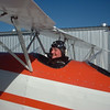 Dad's flight in Great Lakes biplane, Watsonville Airport