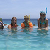 Divers in training, Curacao Hilton 2008