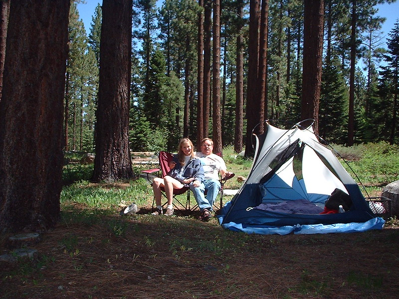 Fallen Leaf Lake campground, 2001