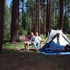 Fallen Leaf Lake campground, 2001