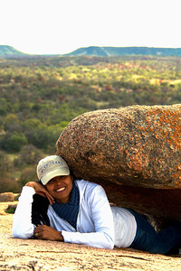 Jessica at Enchanted Rock