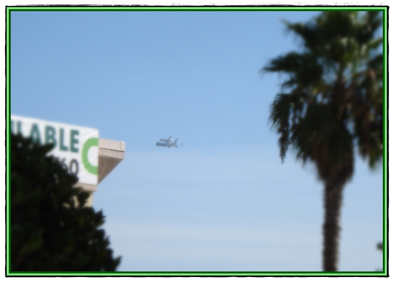 Space Shuttle Transfer 09-21-2012