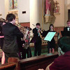 Brass Ensemble at French Quarter Fest - 1st song