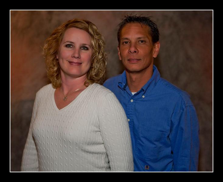 Brian & Heather - Christmas 2009