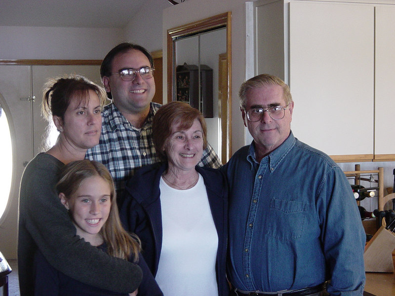 Thanksgiving, 2002, at the Locke's house.