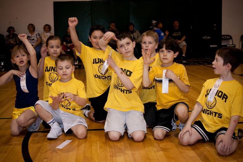 Youth Basketball, Winter 2010-8