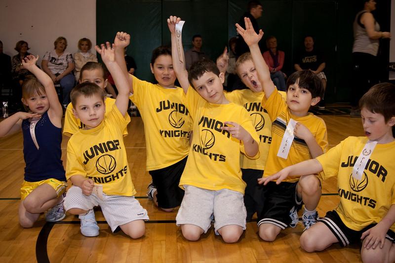 Youth Basketball, Winter 2010-7