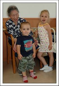 Seishi's Mom with Montana and Frankie