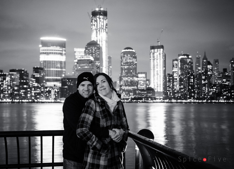 View of Manhattan from Jersey City Pier