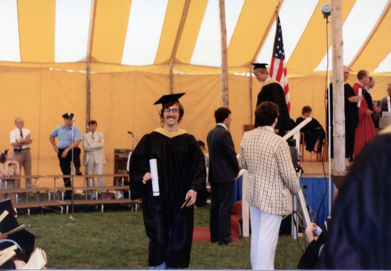 Brian's college graduation