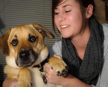 Christina and dog-3936