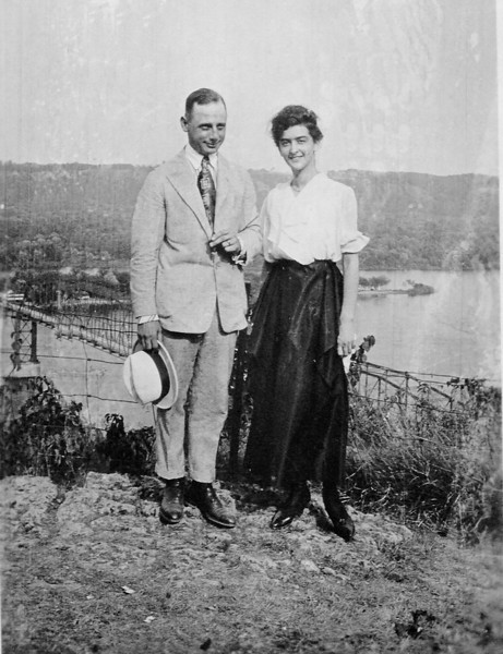 A Suitor (Leslie?) and Geneva (undated) Probably Storm Lake