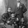 Irene, Charles, Paul and Geneva Lapage circa 1896
