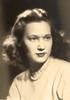 Cherry Brady's Senior portrait, Yakima High School, Yakima, Washington