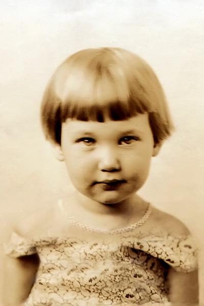 1931 Cherry Ann Brady, age 2