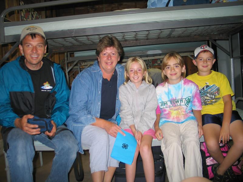 Emma's first overnight 4-H camp. @ Kamp Kenwood