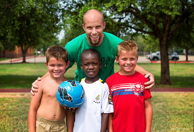 Famous Playing Soccer at Rock Prairie Elementary