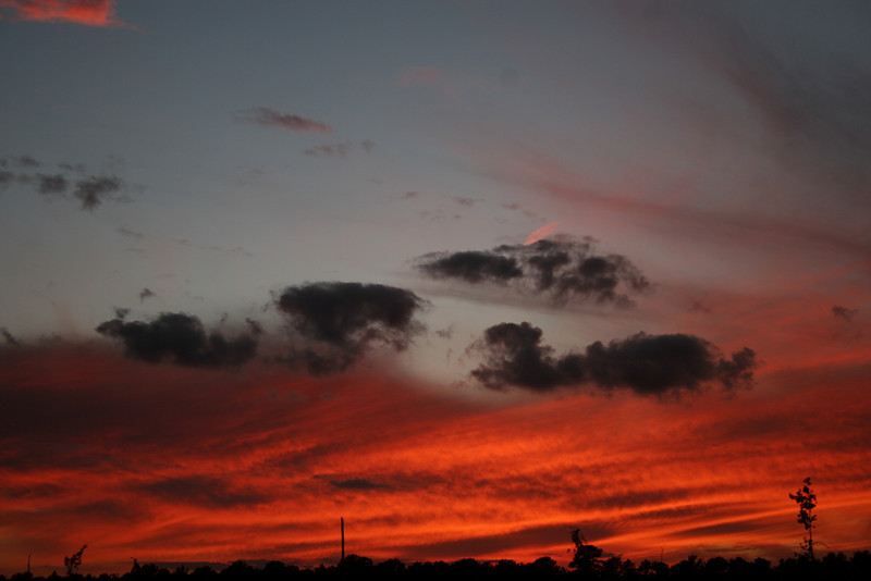 This sunset  was taken in Oct. of this year. 2007