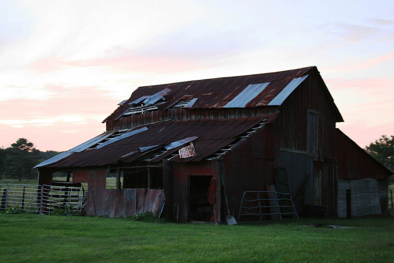 Dad (Clyde) wrote:<br /> <br /> The old barn is the one down the road from us. We lived on the corner there when James was borne. I milked my first cow in that old barn and I guess I was about 4 to 5 years old at the time. We had a dairy in that barn.
