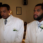 Leland & his cousin Eric in the wedding