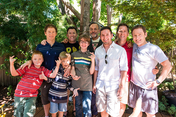 Father's Day at Geoff/LeAnn's<br /> <br /> Dad's and Future Dad's
