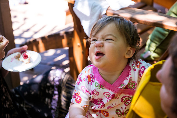 Father's Day at Geoff/LeAnn's<br /> <br /> Baby Harper makes funny faces!