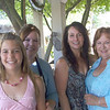 Three generations of beautiful girls. L to R : Delaney, Dana, Susan, and Patricia.