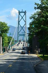 Washington bridge, Vancouver BC