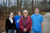 Three of the 8 grandchildren