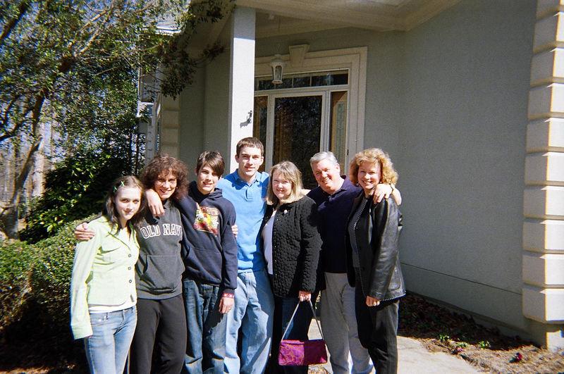 Lauren, Becky, Reid, Dan (aka stretch), Carole, Kiernan, Sue