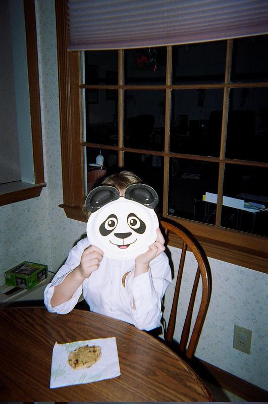 An unidentified panda