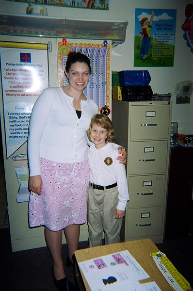 Kelsey and Teacher