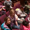 Jaidyn and Lila at an orchestra concert