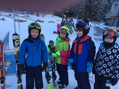 Whistler ski school kids