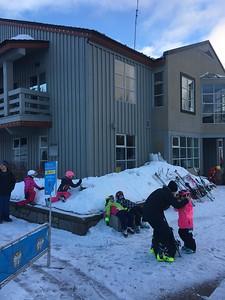 Full day of skiing!