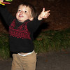 Outside, Alden threw glow-in-the-dark bracelets while the big kids ran crazy with flashlights.