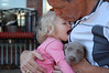 Hugs for Grand Dad and Bella