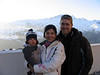 Family picture at Les Arcs 1600