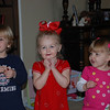 Matthew, Hallie, and Chloe posing for a picture.