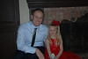 Daddy and Hallie all dressed up for the daddy daughter dance