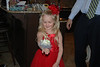 One happy little girl