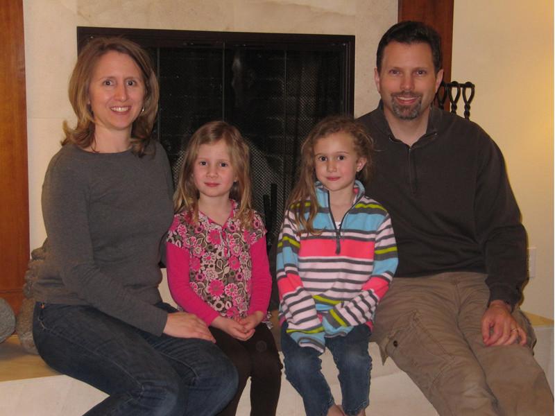 A rare family photo.