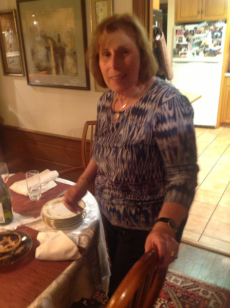 Rosh Hashanah dinner - first iPad photos!