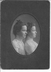 Grandma Brady and Aunt Nettie