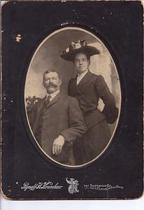 Grandma and Grandpa Wedding 1903