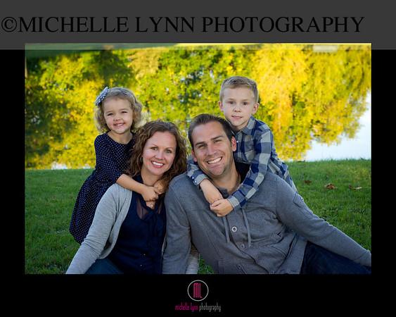 Aaron + Erin Family Photos
