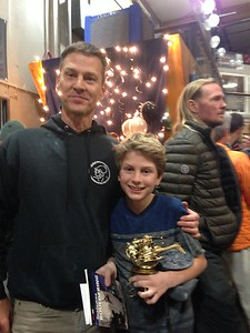 Nathaniel wins kids division at Rocknasium 25th anniversary comp