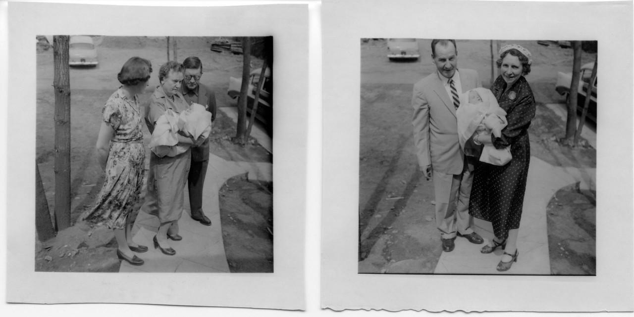 Anna & Vince Finan Sr.; Al and Vera Hall
