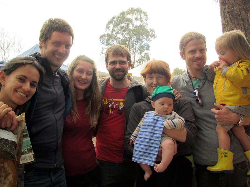 <b>18 Dec 2010</b> St Andrews Market - Rosalba, Ben, Josie, Alex, Megan, Finn, Dave, Freja