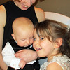 <b>19 Dec 2010</b> Finn with the little girl (Sari, 4 years old) who thought he was wonderful